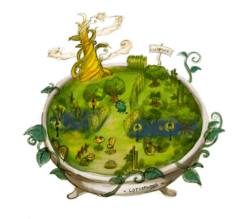 ロホホラ庭園