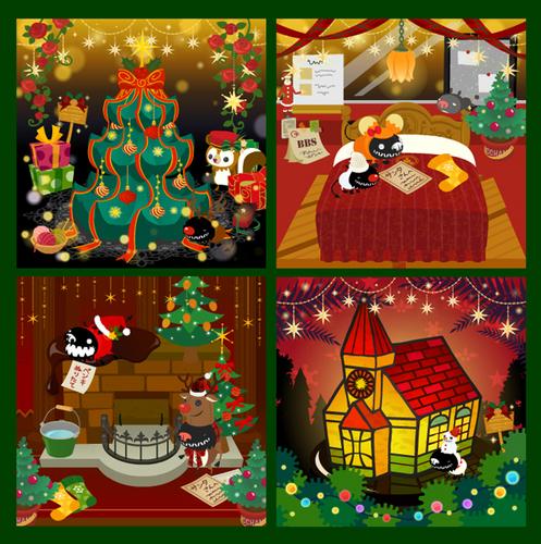 煌やかなクリスマス