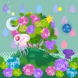 紫陽花の6月花嫁