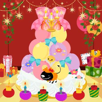 9歳ケーキ!