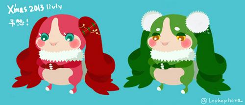クリスマスリヴ予想!