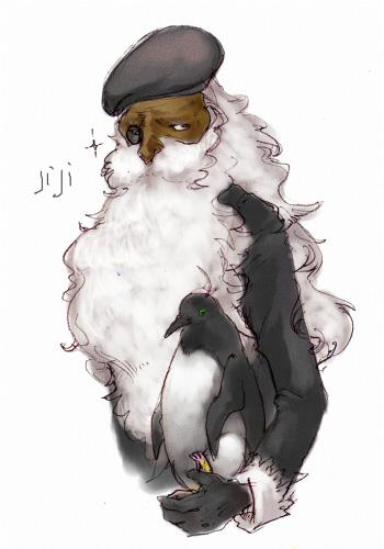 ペンギンじじさま