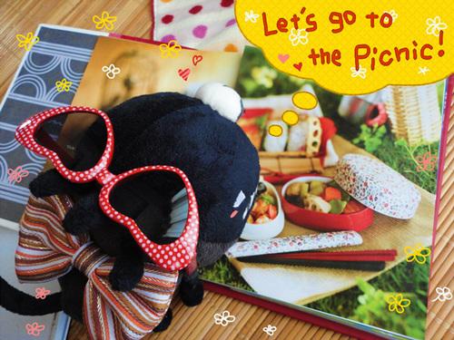 ピクニックに行きたい!