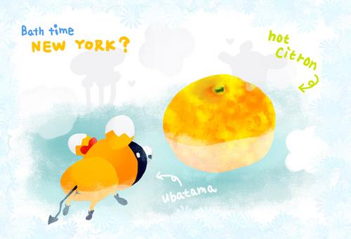 柚風呂うばたま